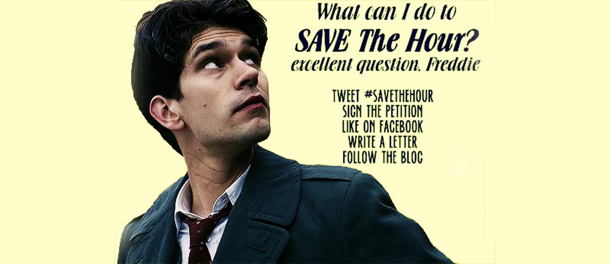 Save The Hour, una campaña para rescatar la serie de TV 2