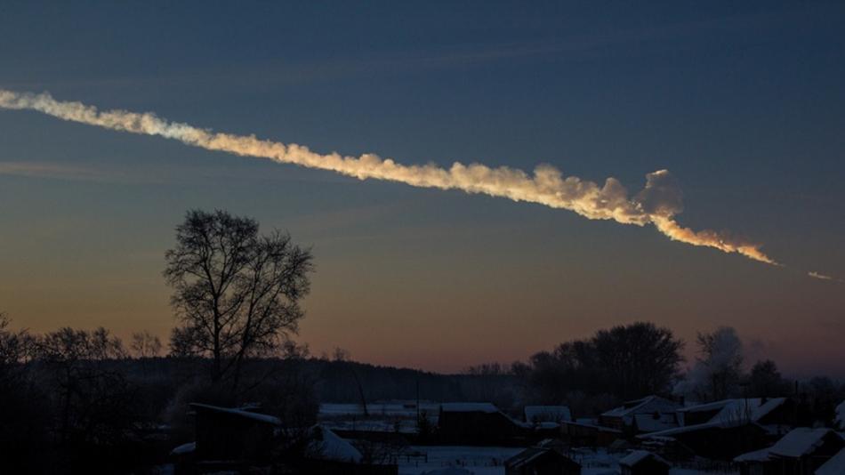 Origen del meteoro en Rusia a través de los vídeos subidos en la red