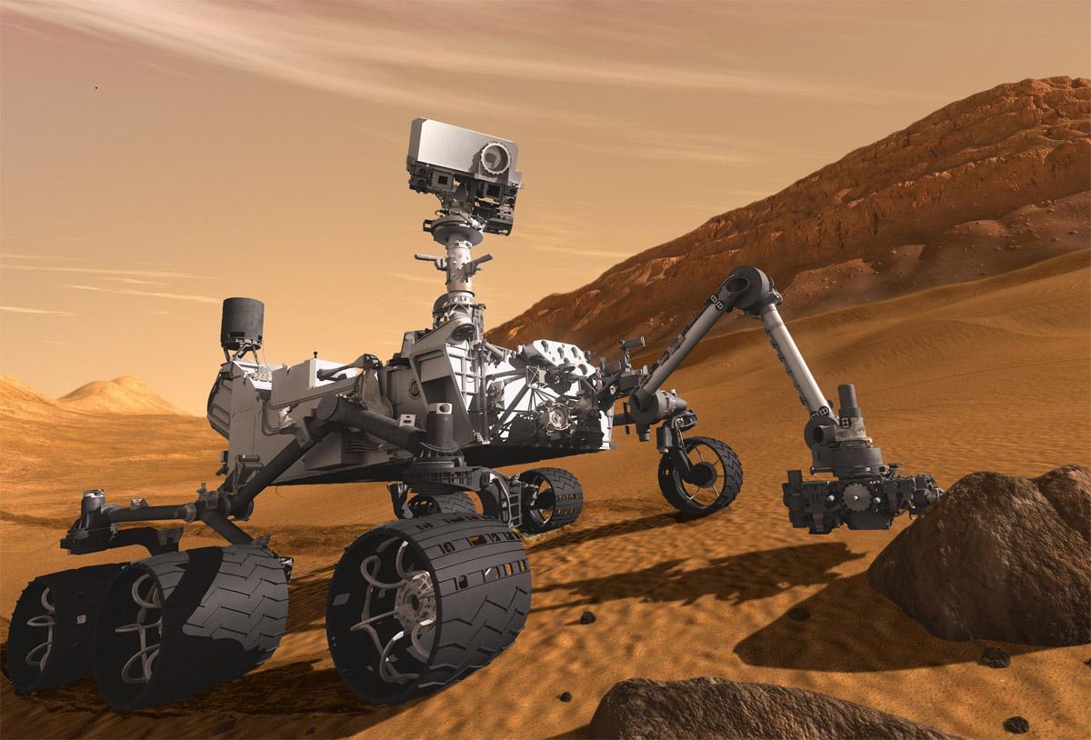 Curiosity tiene una falla de ordenares retrasará la misión una semana