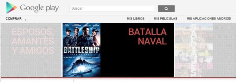 Google Play Movies disponible en México