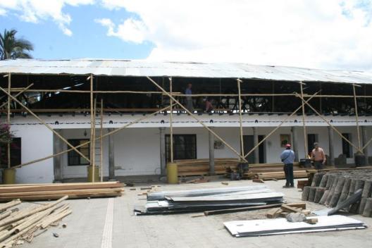 Rehabilitacion de edificios existentes en Yachay