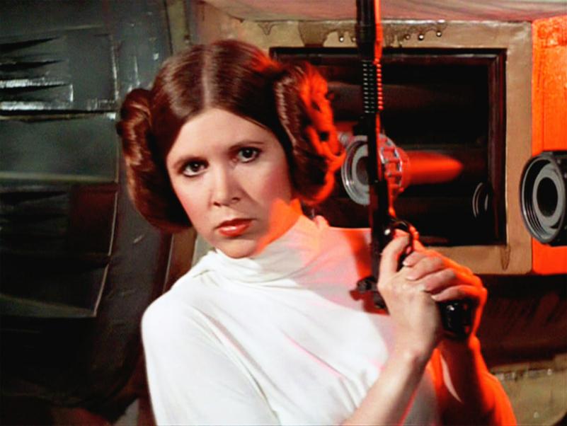 Carrie Fisher será Leia