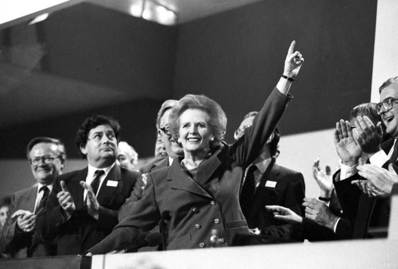 Margaret Thatcher en el cine