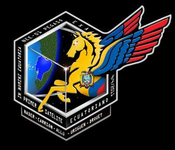 Pegaso satélite Ecuador Logo