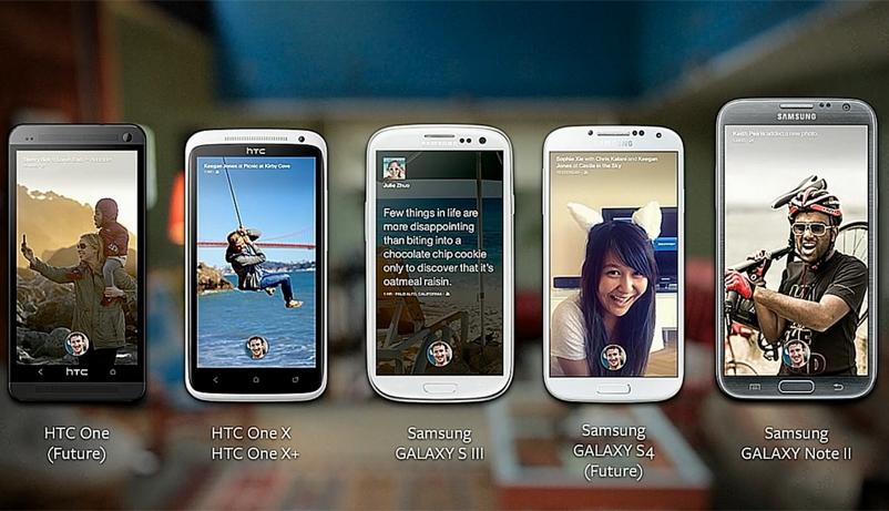 facebook home telefonos