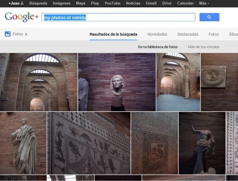 Búsquedas en Google+ Photos - Google introduce la visión por computador al buscador de imágenes