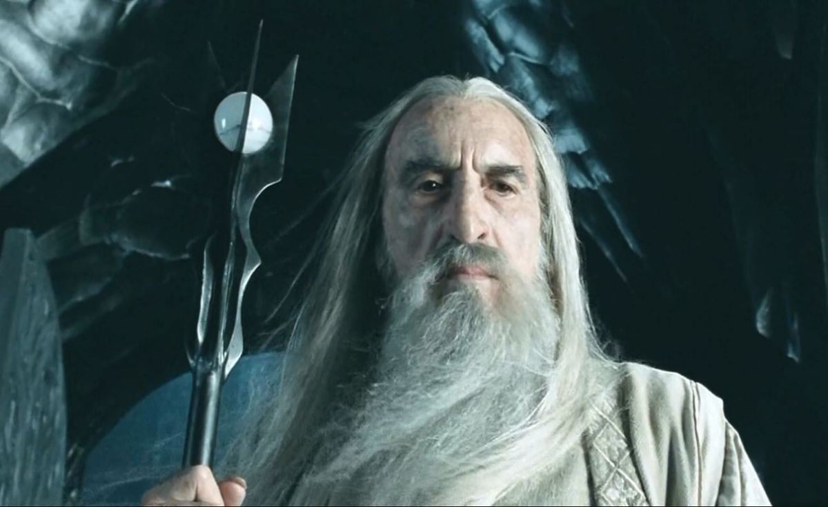 Christopher Lee como Saruman - Filmografía de Christopher Lee