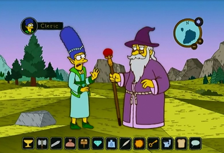 Momentazos tecnológicos de Los Simpsons