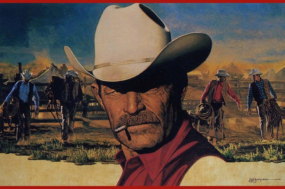Conocida marca de tabaco promociona su producto con un vaquero