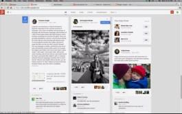 Nuevo diseño del steam de Google Plus