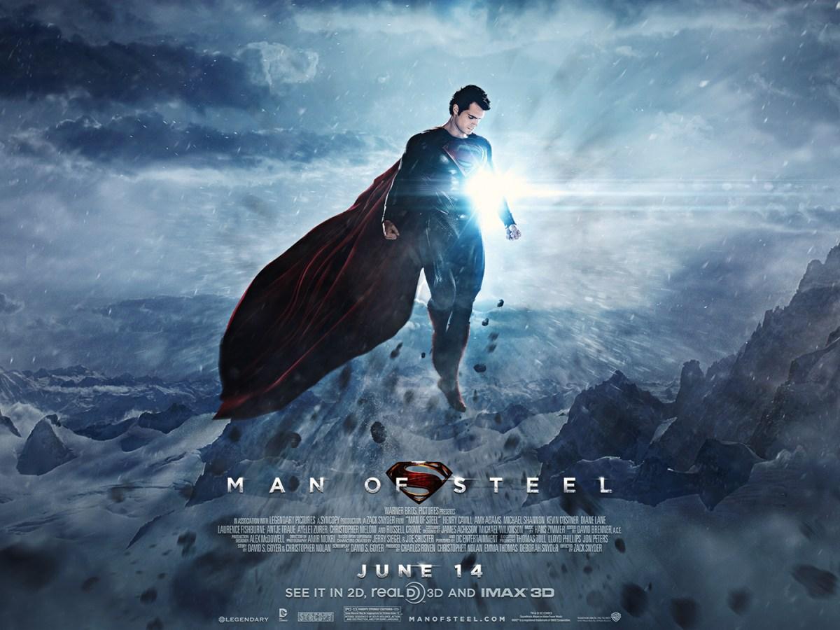 Crítica de Man of steel poster