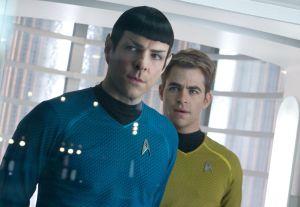 Crítica de Stark Trek Into Darkness Zachary Quinto y Chris Pine