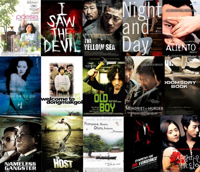 Las 15 mejores películas coreanas contenporáneas