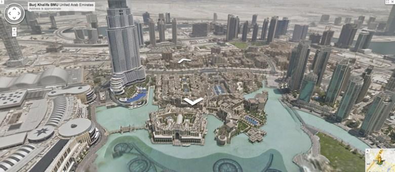 Burj Khalifa en Street View