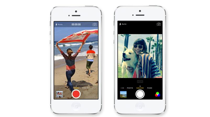 Cámara iOS 7