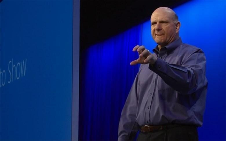 Steve Ballmer en el BUILD 2013 - ¿Tiene sentido la reestructuración de Microsoft sin la salida de Steve Ballmer?