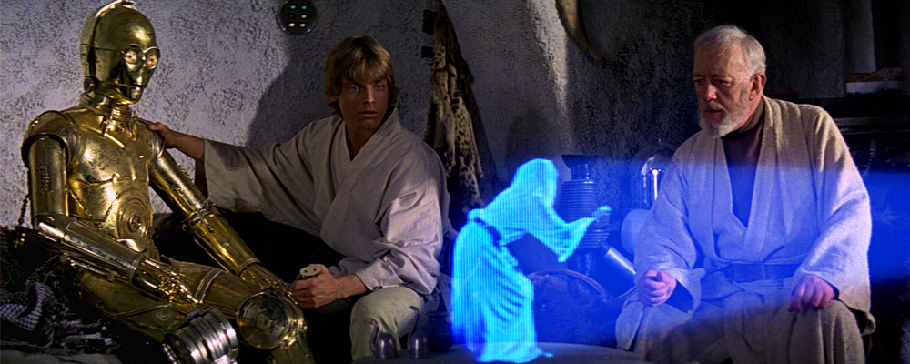 Hologramas a tamaño real