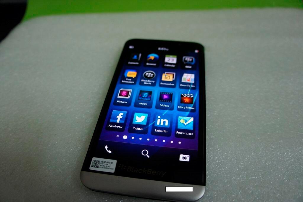 BlackBerry A10 en imágenes