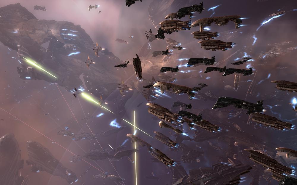 Batalla en EVE Online