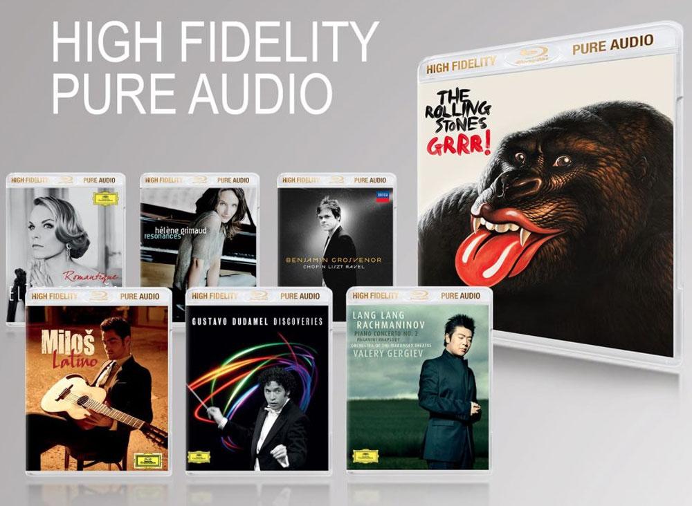 música en Blu-ray