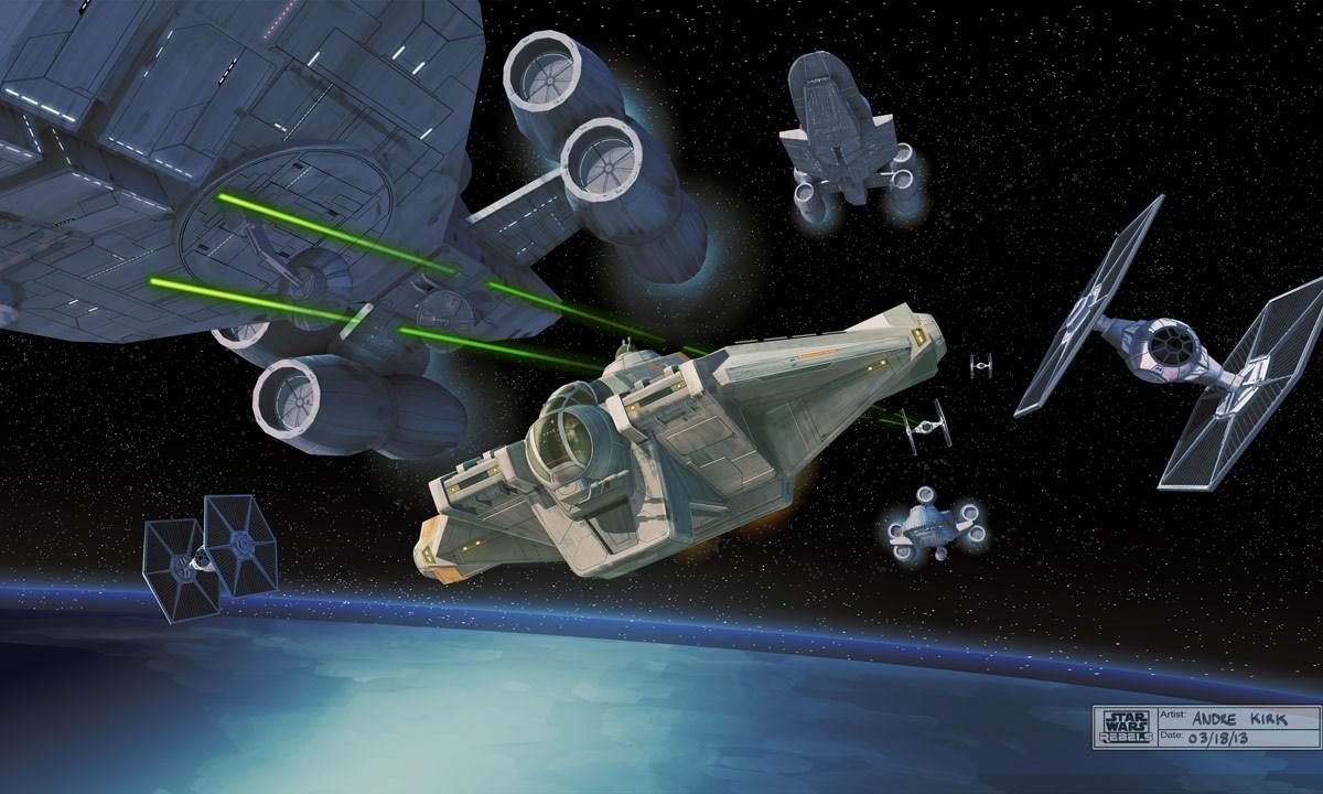 Información de Star Wars Rebels: Ghost