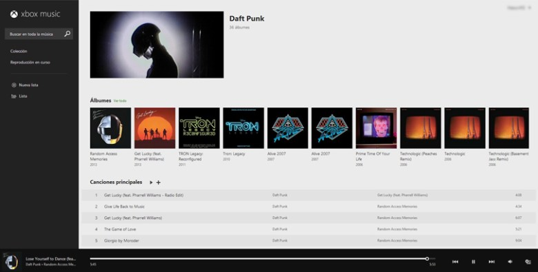 Xbox Music online, ya disponible