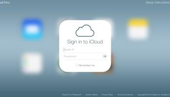 Beta del nuevo iCloud