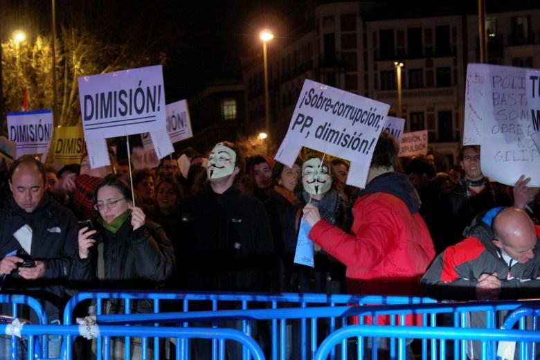 Manifestación corrupción