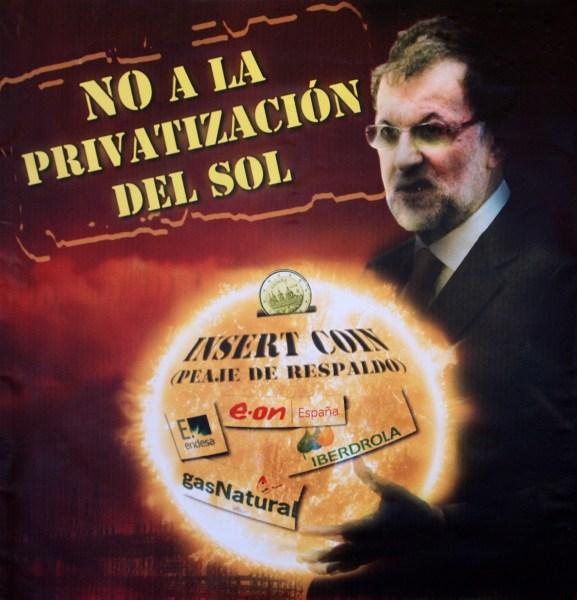 Privatización del Sol - Reforma Energética de España
