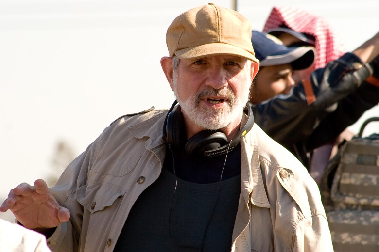 Brian De Palma en le rodaje de Redacted - Retrospectiva de Mission: Impossible