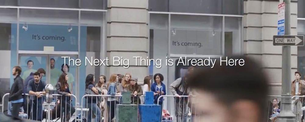 comercial de Samsung contra Apple