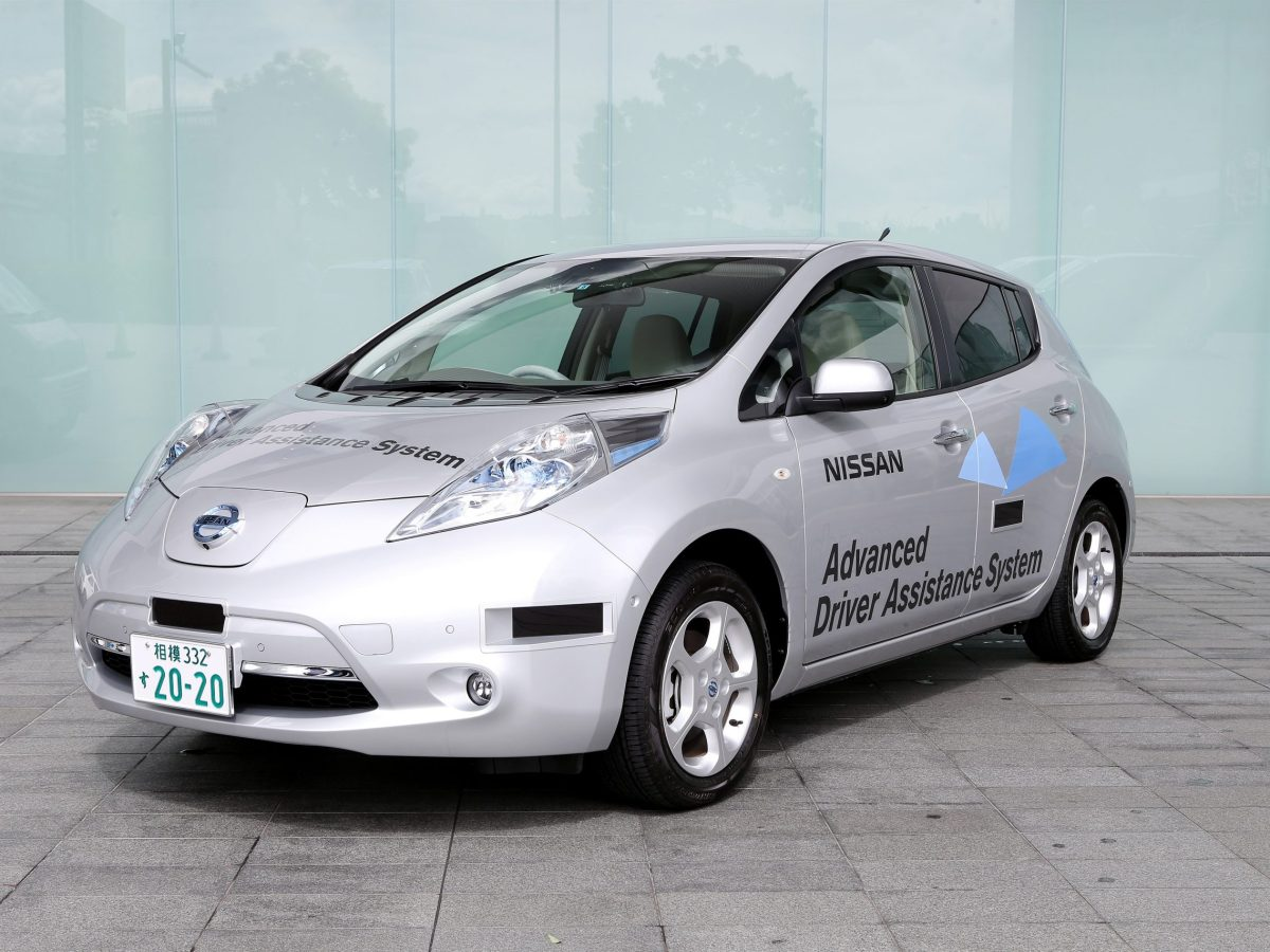 Nissan Leaf autónomo