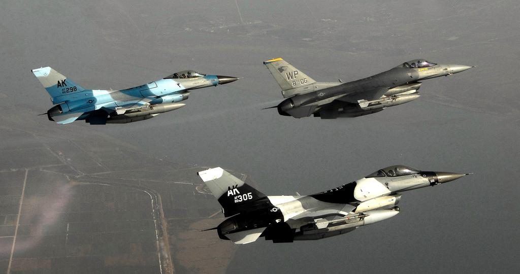 Cazas F-16