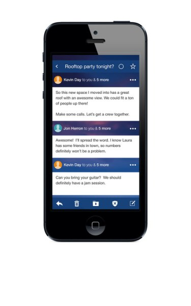 Nuevo Yahoo! Mail iOS
