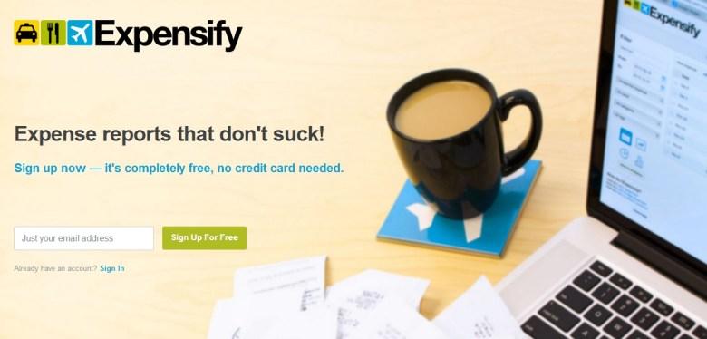 Expensify, 7 herramientas gratuitas para organizar una empresa