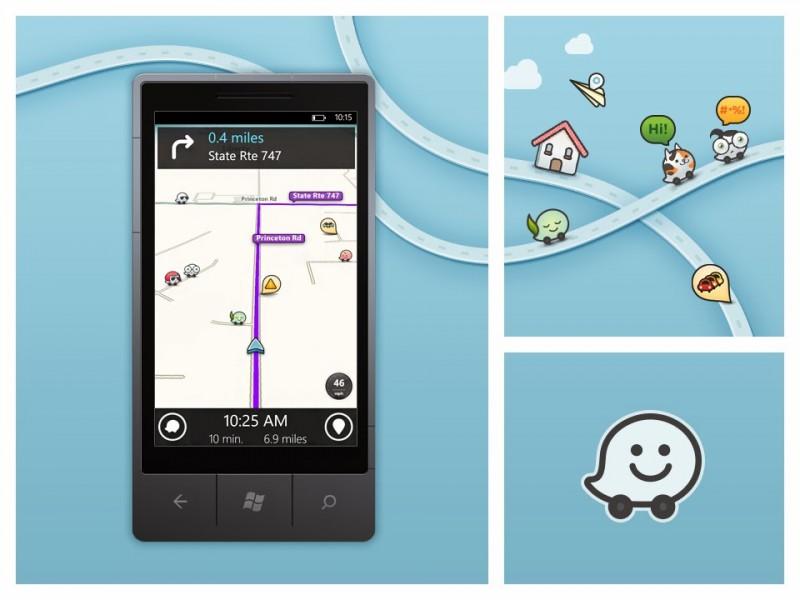 Waze para Windows Phone