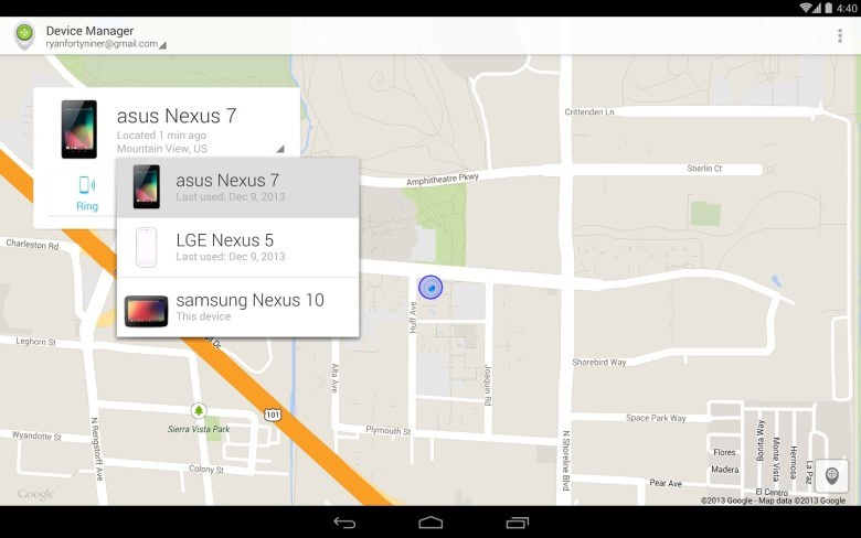 Android Device Manager para Android (2)
