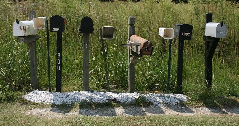 Buzones de correo - correo electrónico