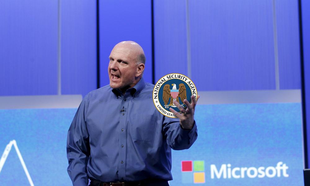 Microsoft NSA
