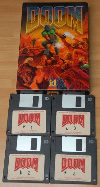 doom diskettes