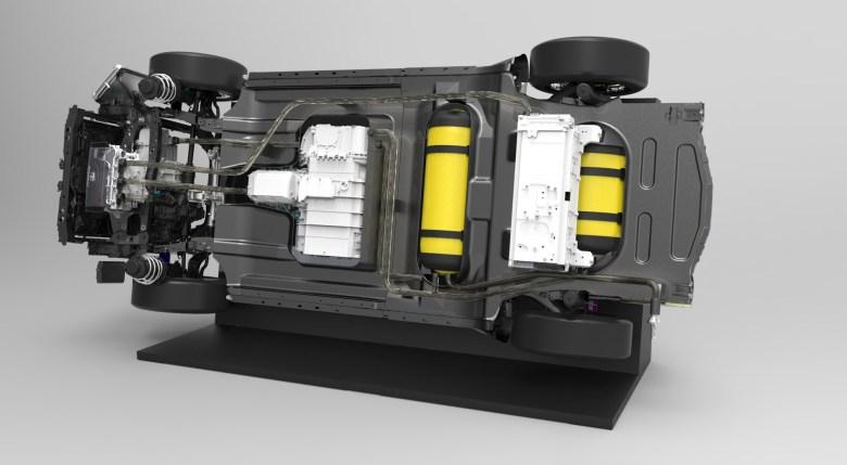 vehículos impulsados por hidrógeno