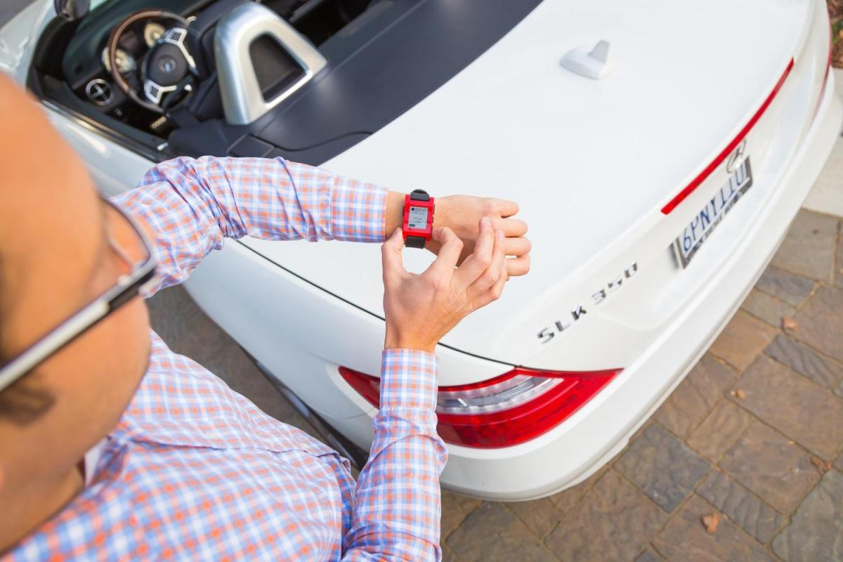 Smartwatches y coches