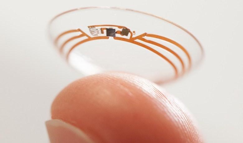 google lentes de contacto