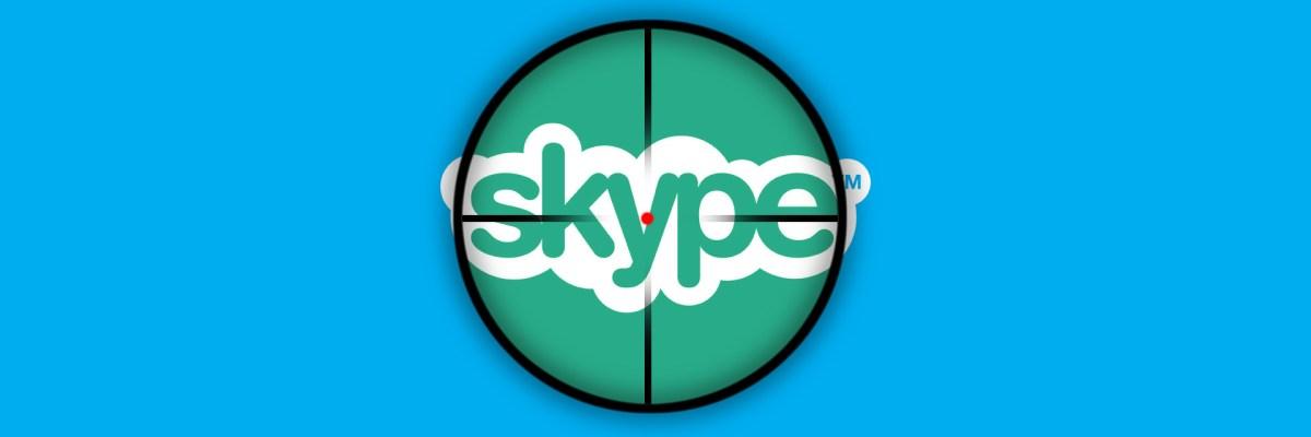 cuentas sociales de Skype