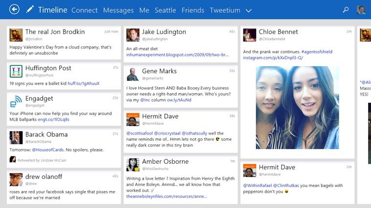 Tweetium -Alternativas a MetroTwit: mejores aplicaciones de Twitter para Windows