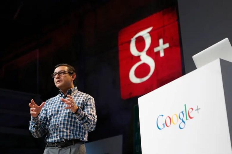 Senior VP of Engineering at Google Gundotra speaks at a Google event in San Francisco