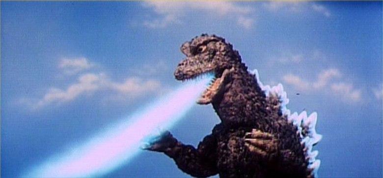 Godzilla aliento atomico