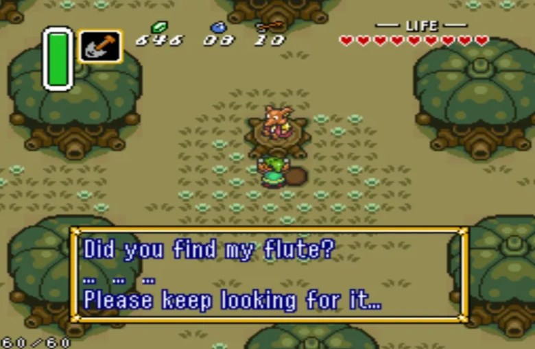 a link to the past zelda