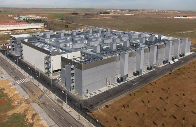 Vista aérea del Alcalá Data Center.