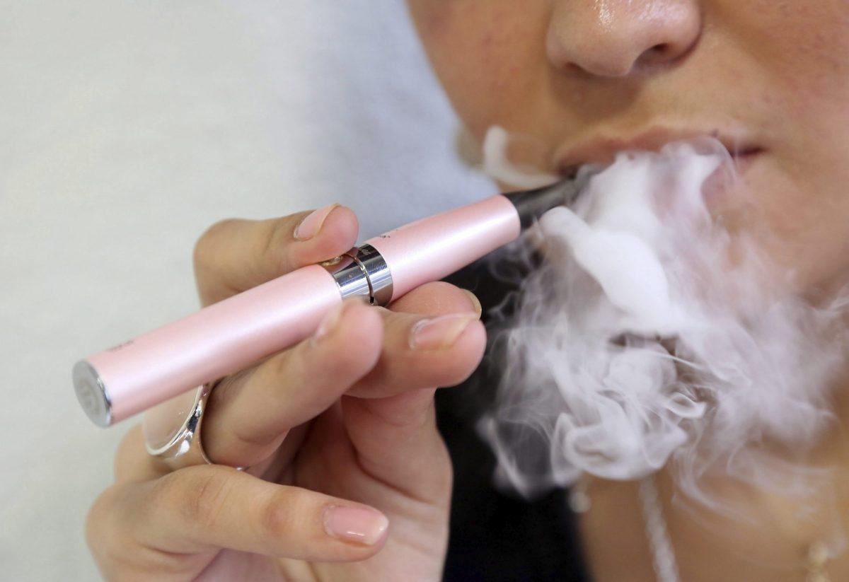 vapor de los cigarrillos electrónicos
